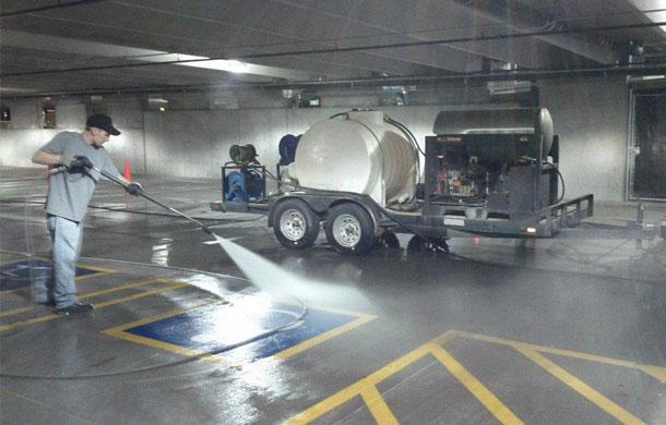Parking Lot Cleaning Prescott Parking Lot Cleaning Arizona